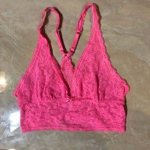 Hot pink Victoria's Secret bralette